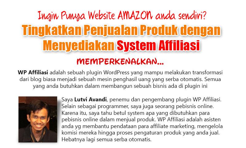 Ingin Memiliki Website AMAZON anda sendiri?