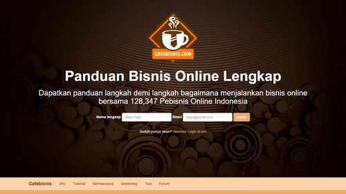 Cafebisnis Beta Version