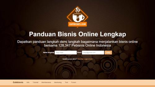 Tampilan baru web cafebisnis